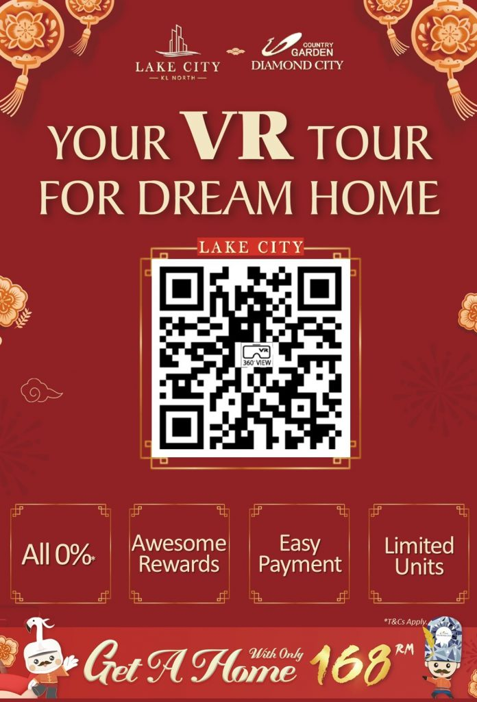 Lake City KL North Smart Community with Face ID access VR Show Unit Tour !
